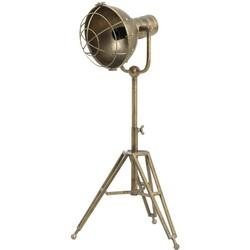 Tafellamp driepoot 35x30x62-93 cm RYAN brons