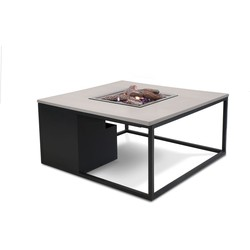 Cosi Fires - Cosiloft lounge vuurtafel 100 - grey top