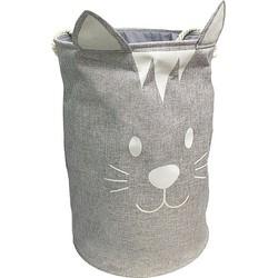 Balvi Meow! Wasmand Kat - Grijs