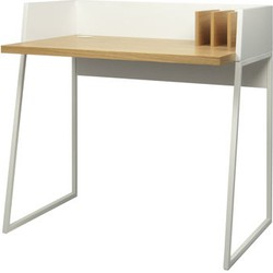 POP UP HOME Working Desk. White,Oak