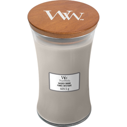 Woodwick Large Candle Sacred Smoke