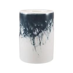 John Lewis Water Pattern Small Tealight Holder, Blue/White
