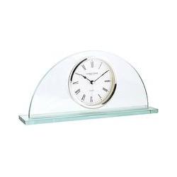 London Clock Company Half Moon Mantel Clock, Glass