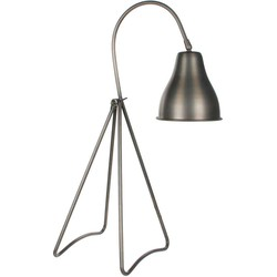Casa Vivante kiki bureaulamp lichtgrijs maat in cm: 20 x 24 x 64