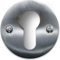 Cilinder Rozet - Rond mat nikkel