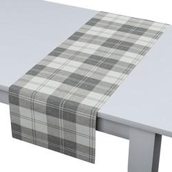 Rechthoekige tafelloper wit-grijs