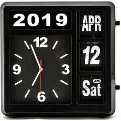By Boo By Boo Almanac clock black