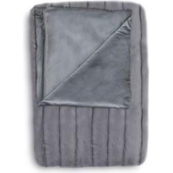 Plaid Foxy 140x220 cm grey - 65% Acryl 35% Polyester