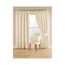 Montgomery Natural `Orleans` curtain 228cm x 228cm, Natural