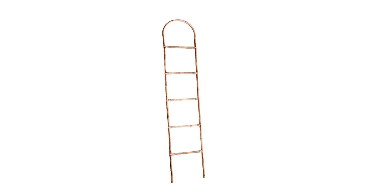 Madam Stoltz ladder bamboe naturel 170 x 40