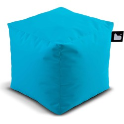 Extreme Lounging poef b-box Outdoor Aquablauw