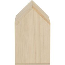 Huisje blank hout groot