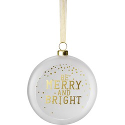 Räder Hippe kersthanger be merry and bright