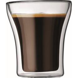 Bodum Assam Dubbelwandig Glas Set van 2 - 0,2 L