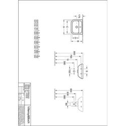 Villeroy & Boch Omnia Architectura Wastafel Keramiek 45x34,5x17 cm Wit Alpin CeramicPlus