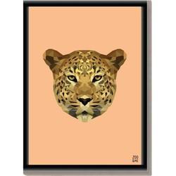 Dierenposter Luipaard - A4