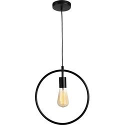 Lifa Living hanglamp Circle Zwart