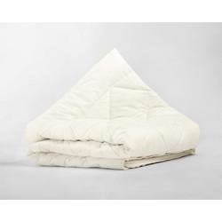 Percale Cotton Wool Touch Enkel Dekbed Cream - 140x200 + 20cm instopstrook
