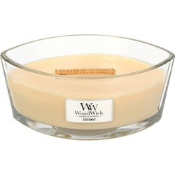 Woodwick HearthWick Flame Ellipse coconut
