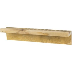 Tolhuijs Fency Shelves Normal Pallet  Wood - Vinyl Stand