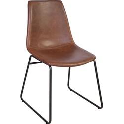 Cholo stoel - bruin - set van 2