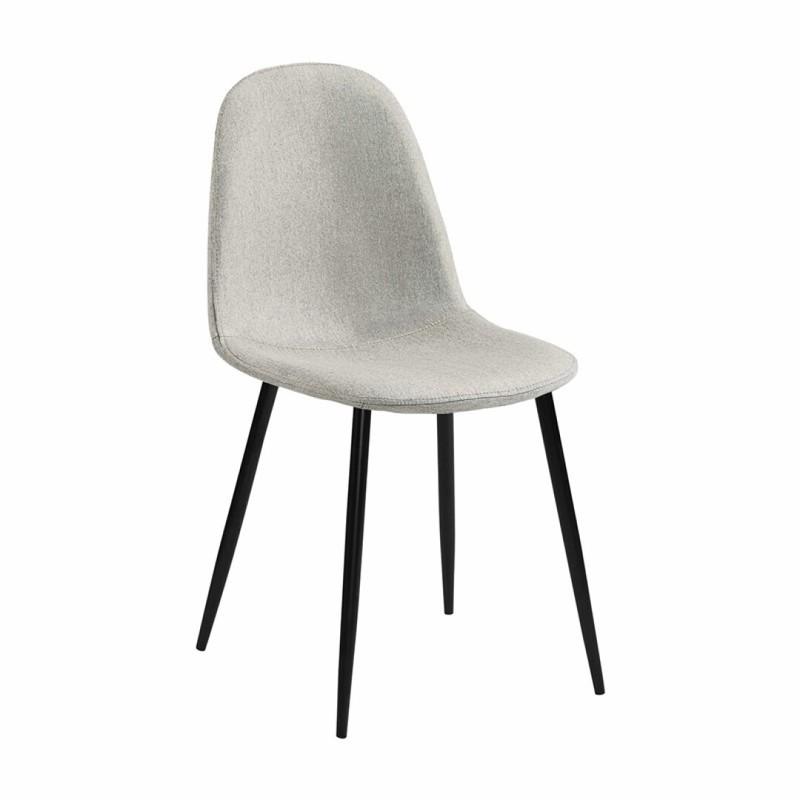 Stockholm stoel - stof beige - set van 4 -