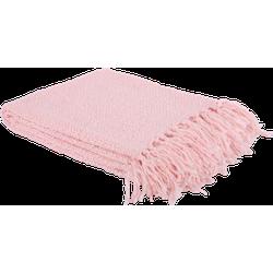 Plaid Ibiza 130 x 170 cm blush pink