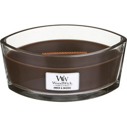 Woodwick Ellipse Candle Amber&Incense