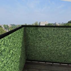 Balkonafscheiding conifeer (100x100cm Dubbelzijdig)