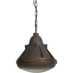 Hanglamp SELIN - Antiek-koper - S