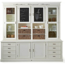 Rivièra Maison Martha's Vineyard Recipes Cabinet
