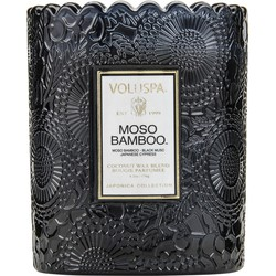 Voluspa Scalloped Edge - Geurkaars - 175gr - Moso Bamboo