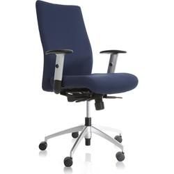 24Designs Bureaustoel Turijn - Donkerblauw