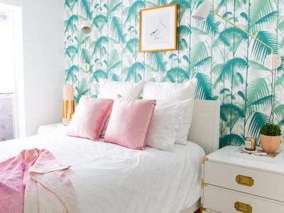 Inspiratie: 6x tropisch behang in huis
