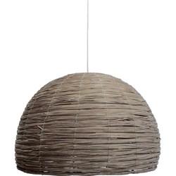 LABEL51 - Lampenkap Gevlochten 56 cm - Landelijk - Naturel