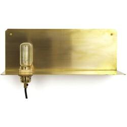 Frama - Pop Corn 90° Wall light - Shelf. Brass