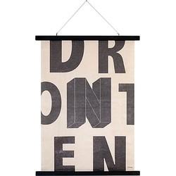 Hkliving Poster 75 x 55 cm - Lettered