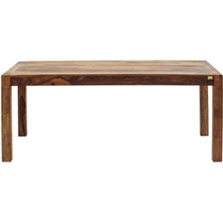 Kare Design - Authentico Eettafel - 180x90x75 - Sheesham Hout