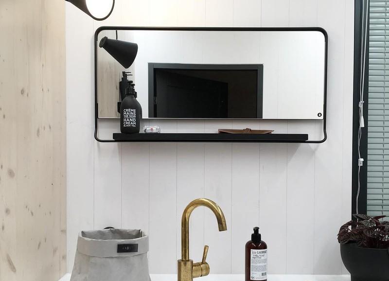 Inspiratie: 6x badkamerspiegels die net even anders zijn