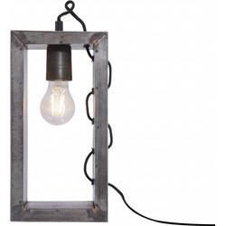 Tafellamp staal SAMIA