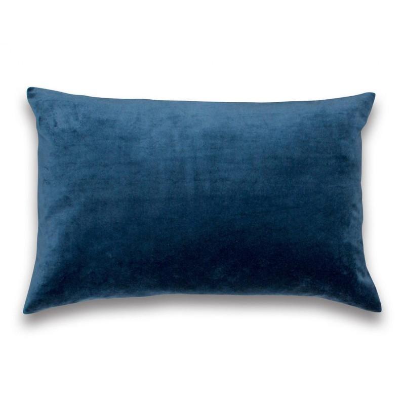 Kussen fluweel indigo blue -