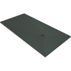 Acquabella Base Douchevloer Slate 90x100x3 cm Lava