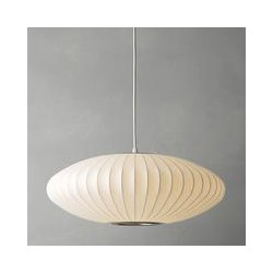 George Nelson Bubble Saucer Ceiling Light, Medium