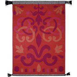 GAN rugs Vloerkleed Kelim Arabesco Sandra Figuerola Red - 200 x 300 cm