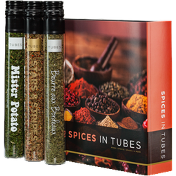 Spices in TUBES - Luxe geschenkverpakking 3 Spices