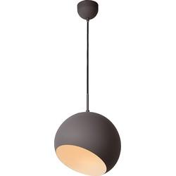 Lucide Hanglamp Bobo - Ø28 Cm - LED - Grijs
