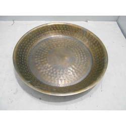 Schaal Ø35 cm BONGEL gegraveerd antiek brons