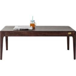 Kare Design Brooklyn Salontafel - L115xB60xH45 Cm - Sheesham Hout - Walnoot Kleur