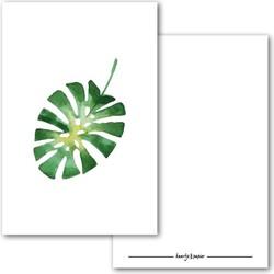 Kaart Botanische print 4