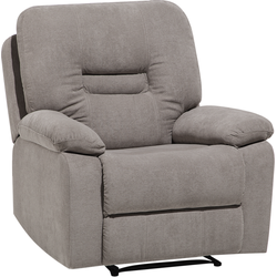 Fauteuil stof taupe BERGEN